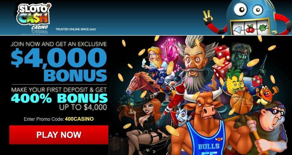 sloto cash bonus exclusive