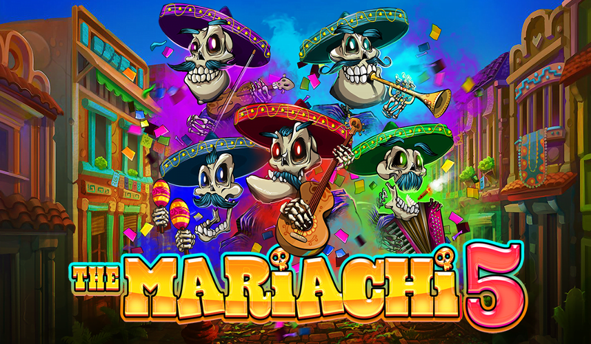 the mariachi 5 slot by rtg