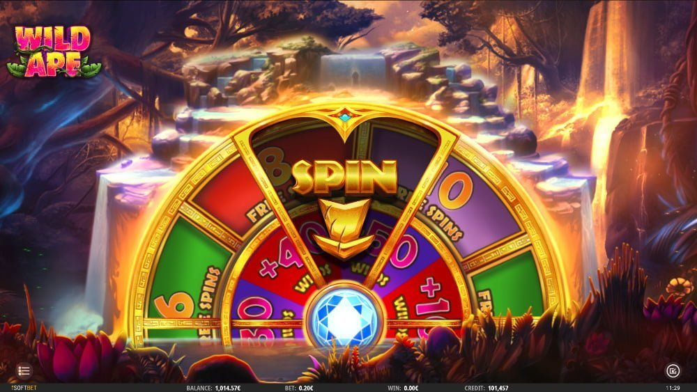 wild ape slot by isoftbet