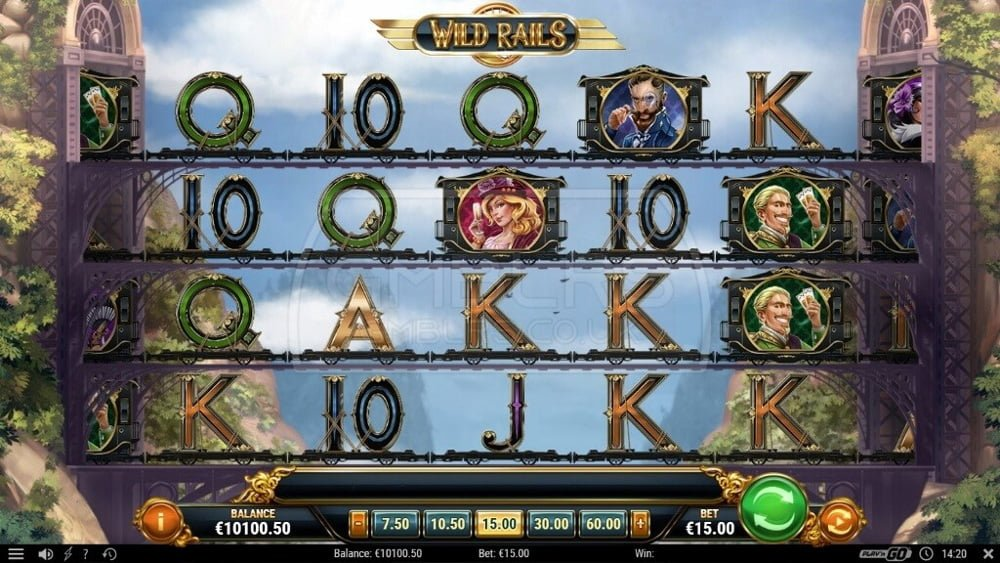 wild rials slot by play n go