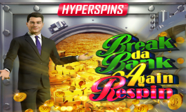 break da bank again slot by microgaming