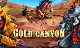 gold canyon slot by betsoft