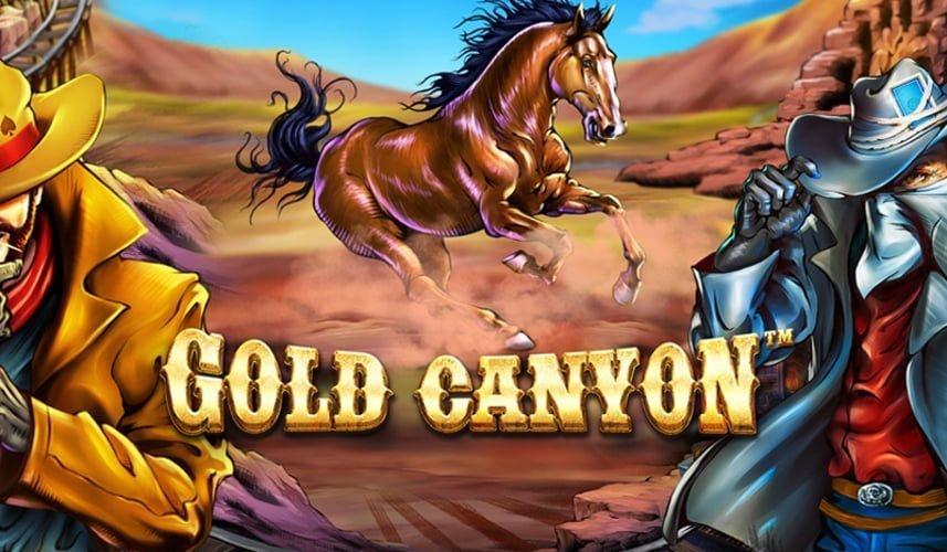 gold canyon slot by betsoft