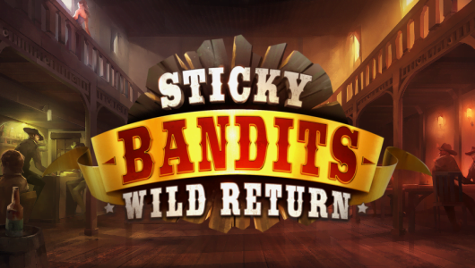 stickey bandits wild return slot by quickspin