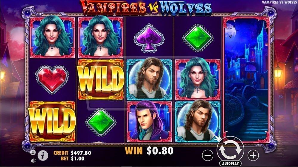 vampires vs wolves slot by pragmatic play