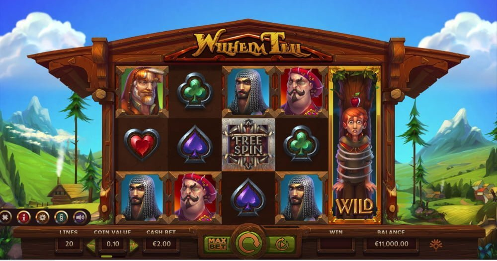 wilhelm tell slot by yggdrasil