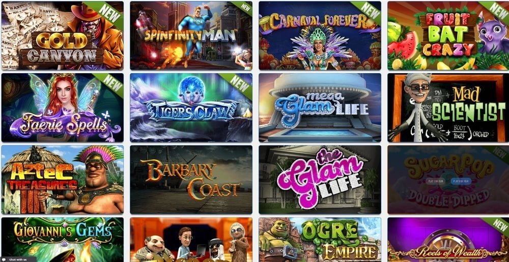 big spin casino slots games
