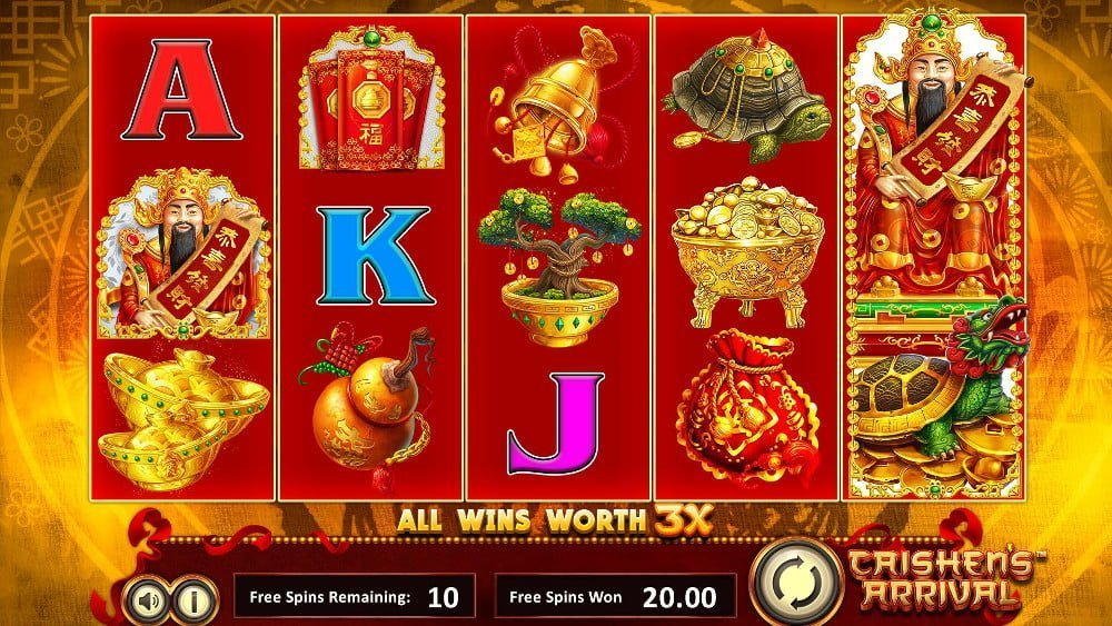 caishens arrival slot by betsoft