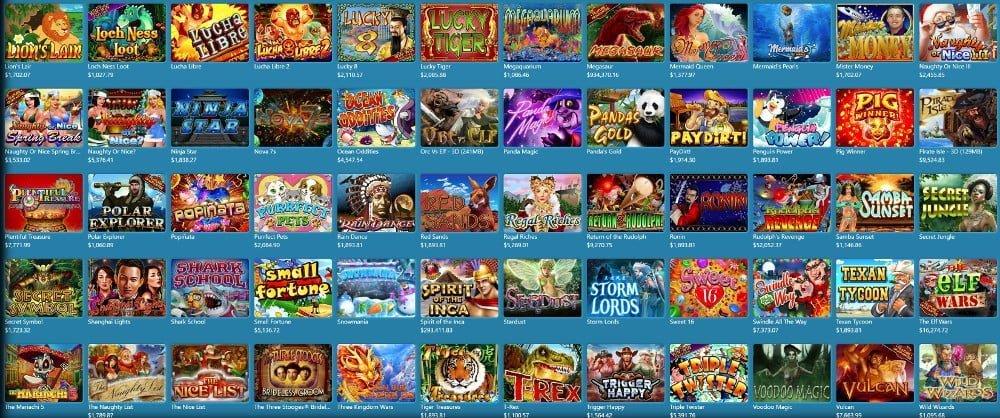 rtg casino slot games