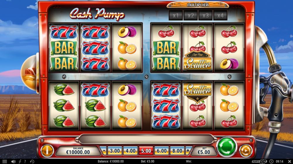 cash pump lot