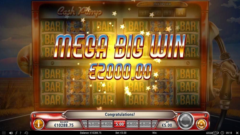 cash pump slot by play n go