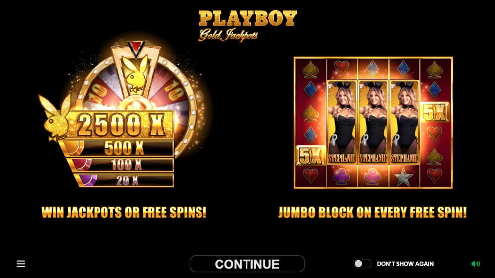 playboy gold jackpots slot by microgaming