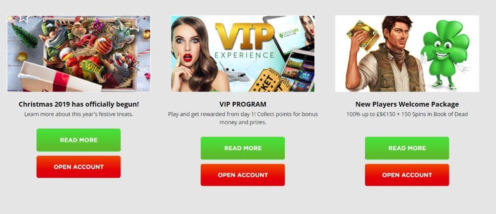casinoluck bonus promotions