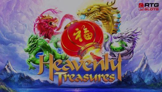 heavenly treasures slot by rtg
