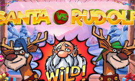 santa vs rudolf slot by netent