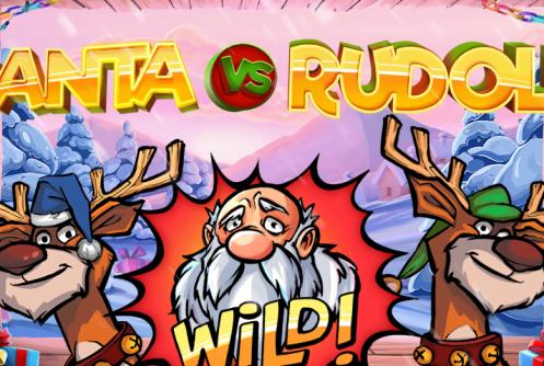 santa vs rudolf slot by netent