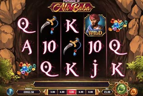 fortunes of ali baba slot by play n go