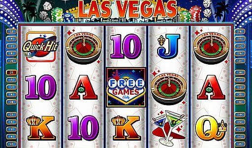 quick hit las vegas slot by bally