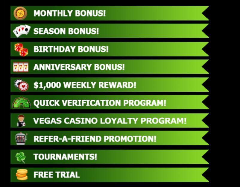 rewards for vegas casino online