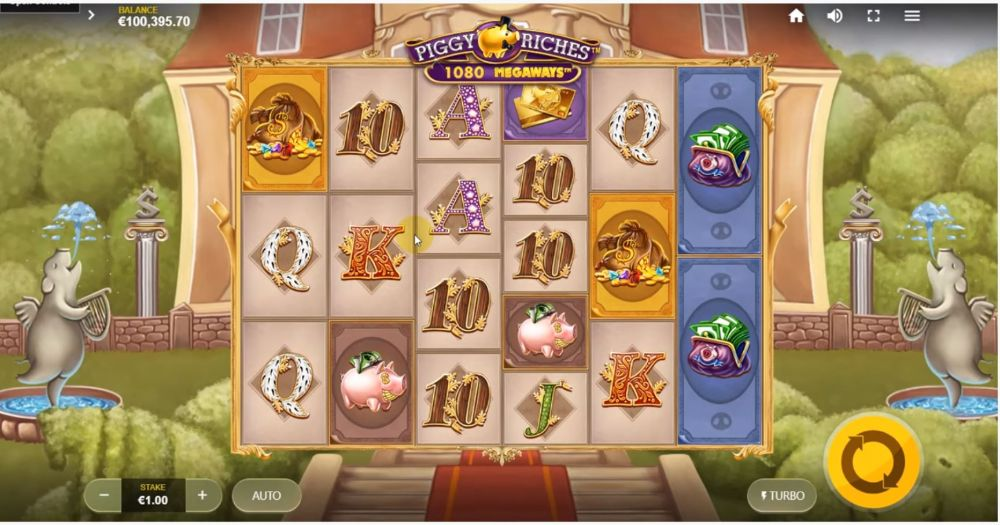 piggy riches megaways slot by big time gaming netent