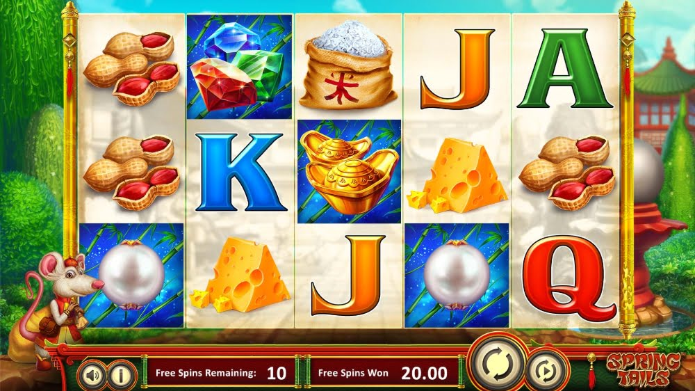 spring tails slot by betsoft