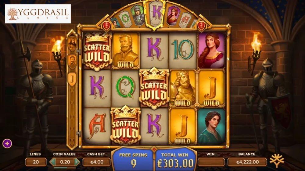arthurs fortune slot by yggdrasil