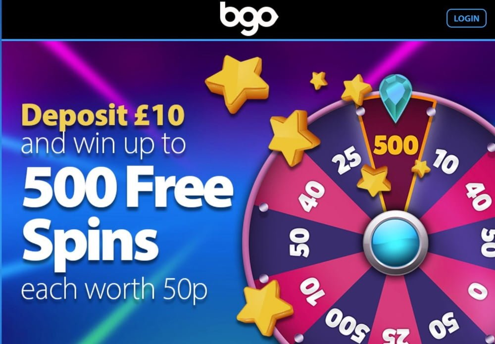 bgo casino free spins