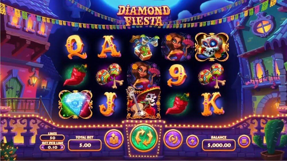 diamond fiesta slot by rtg