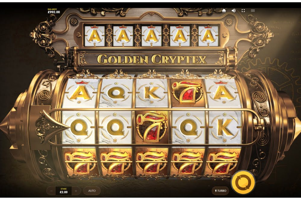 golden cryptex slot by red tiger gaming