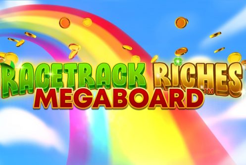 racetrack riches megaboard slot by isoftbet