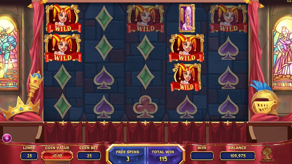 the royal family slot by yggdrasil