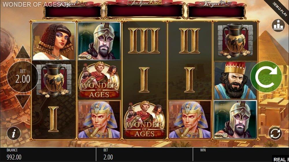 Wonder Of Ages Slot Machine