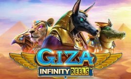 giza infinity reels slot by reelplay