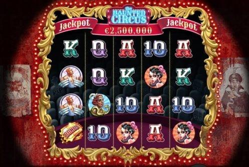 haunted circus slot