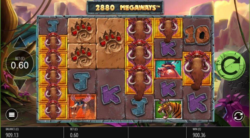 primal megaways slot by big time gaming
