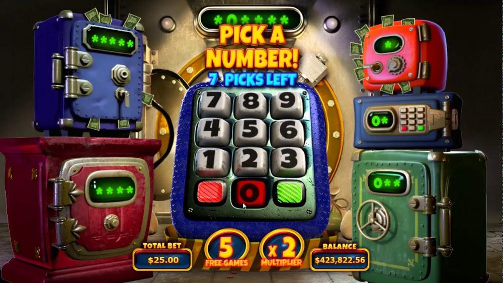 cash bandits 3 slot by RTG