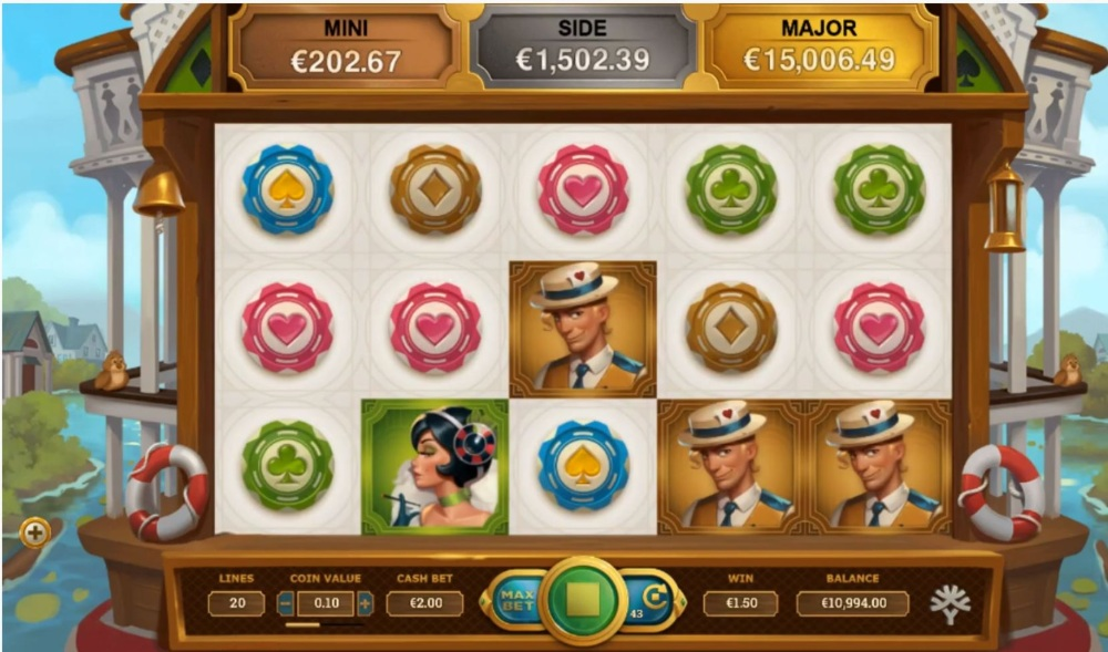 jackpot express slot by yggdrasil