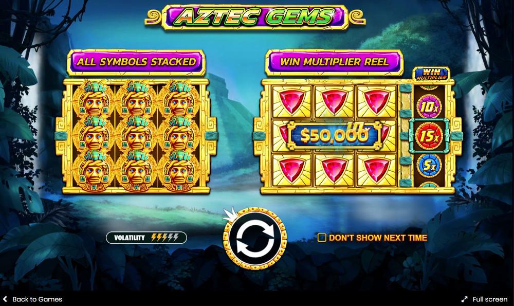 aztec gems slot by pragmatic play