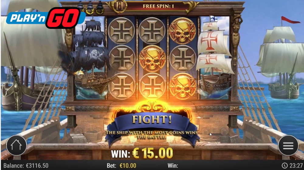 jolly roger 2 slot by play n go