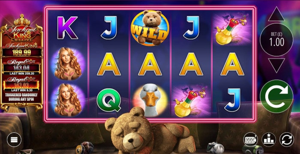 ted megaways slot by blueprint gaming