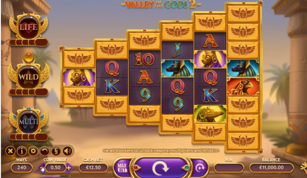 valley of the gods 2 slot by yggdrasil