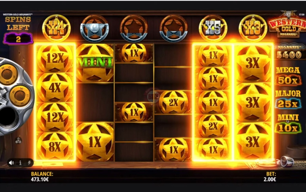 western gold megaways slot by isoftbet