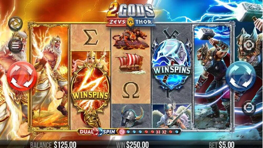 2 gods zeus vs thor slot by 4theplayer