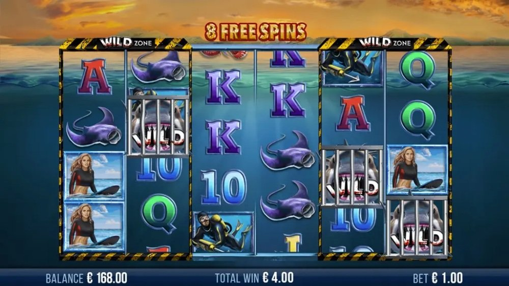6 wild sharks slot by 4theplayer