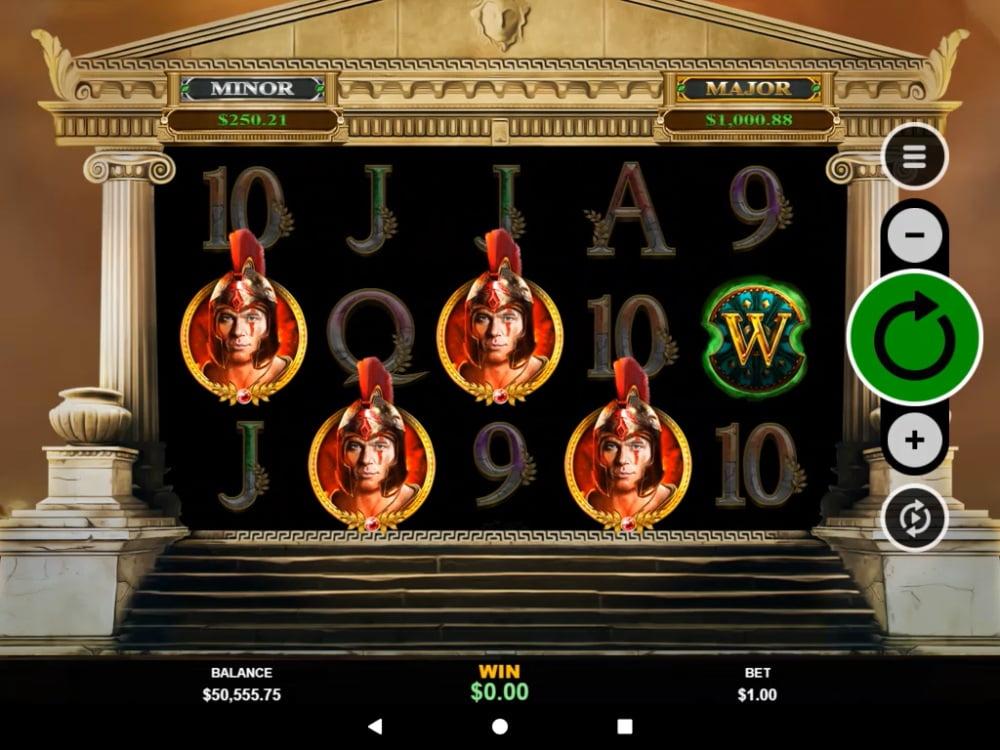 Achilles DeluxAchilles Deluxe Slot by RTG gaminge Slot (1)