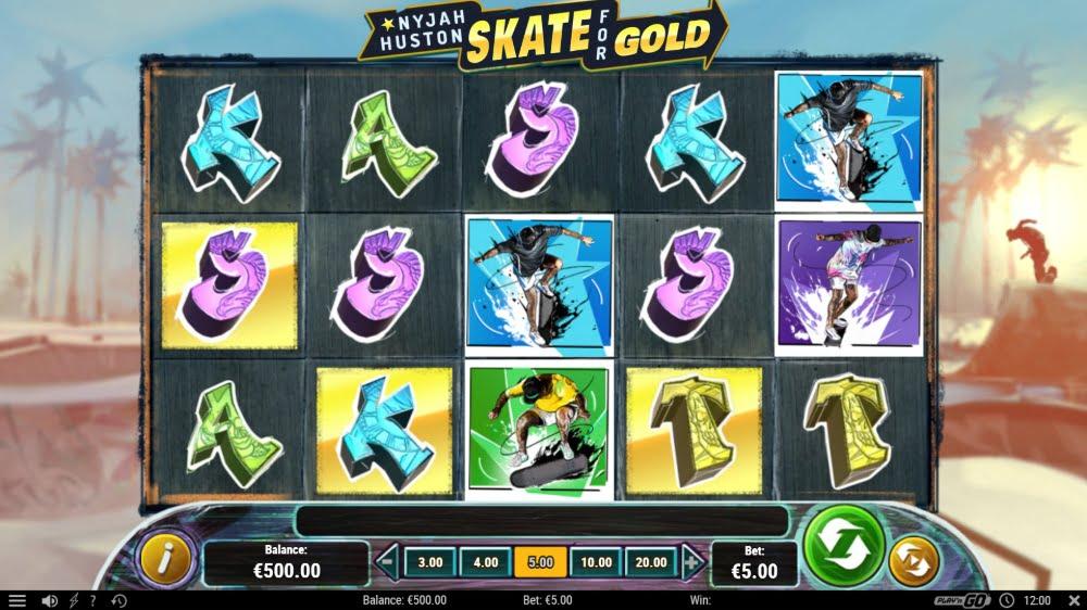 Nyjah Huston Skate for Gold Slot Machine