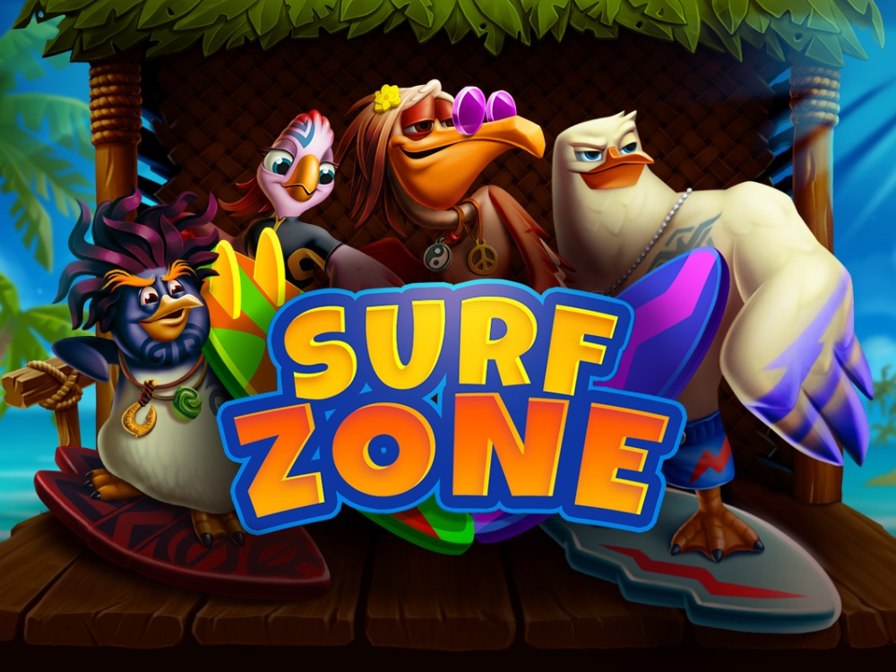 surf zone slot by evoplay