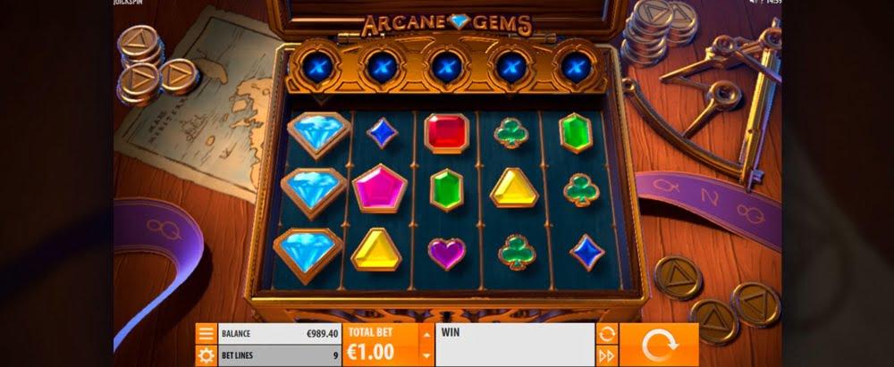 arcane gems slot by quickspin