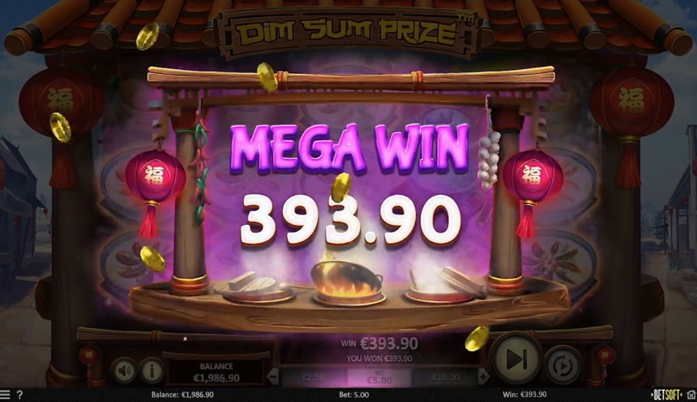 dim sum prize slot by betsoft