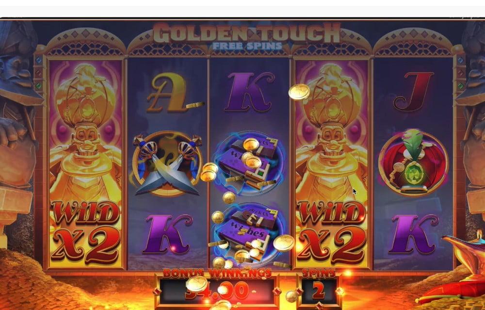 genie jackpots wishmaker slot